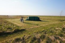 Fantastic campsite, 55 km before Fredrikshavn