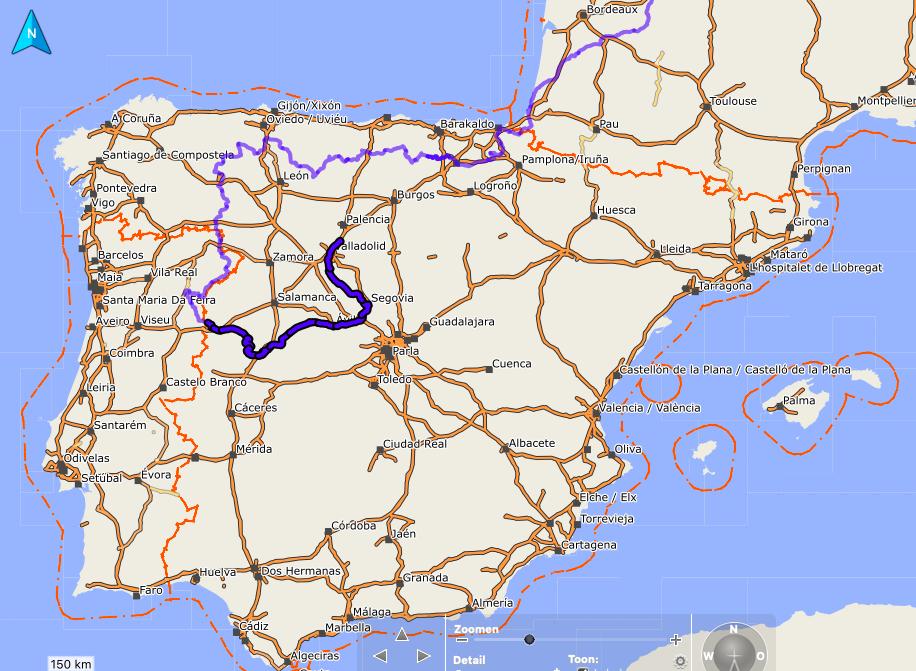Route Castilla y Leon 1