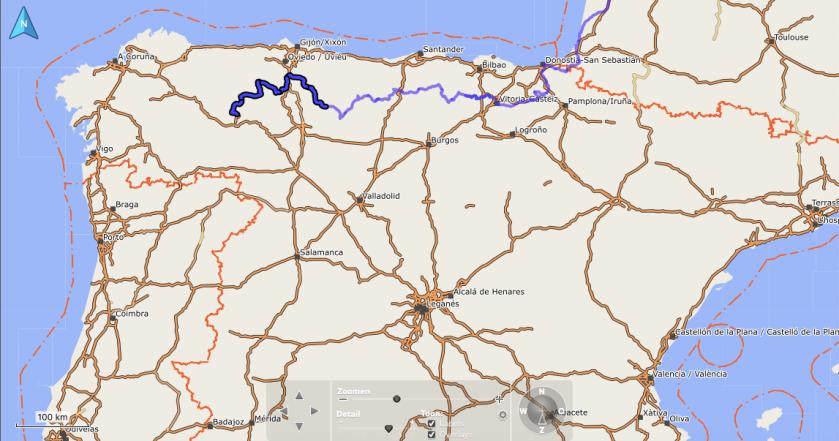 Route Cordillera Cantabrica 2